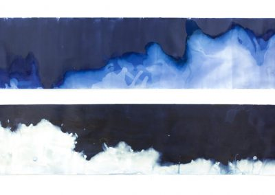"Littoral Drift #240; 21""x108"" (private collection)"