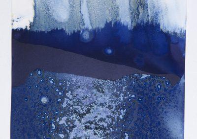 Littoral Drift #48 (Tower Beach, Hilton Head, SC 06.13.13, Three Waves, Dipped and Buried)