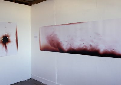 Installed works from Surface Disruption