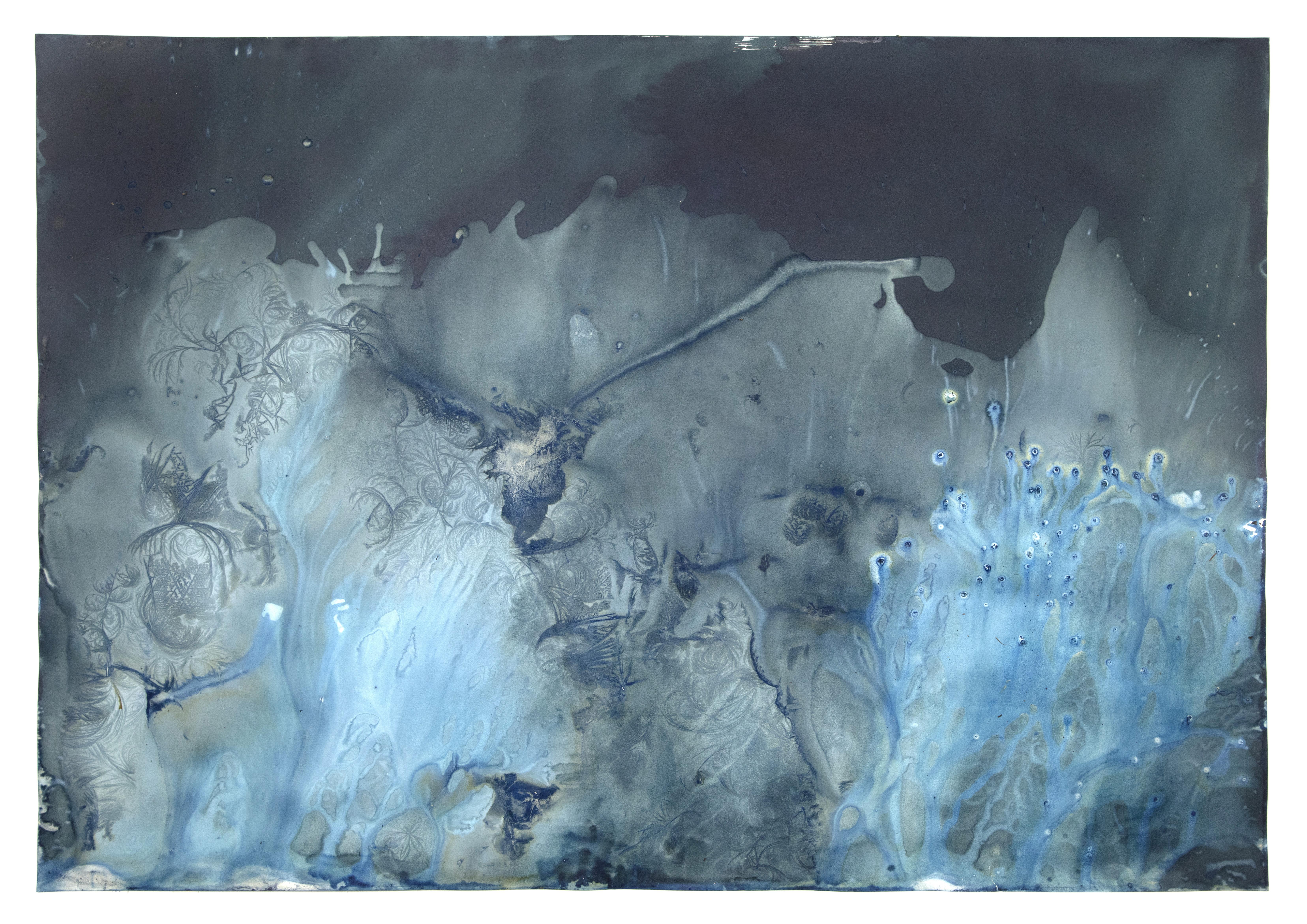 """Ice# 143  42x60"""""""